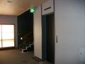 客室フロアのエレベータホール