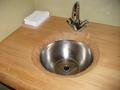 トイレ前の手洗い場