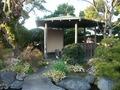 庭園の東屋