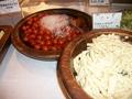 朝食バイキング(トマトとマカロニサラダ)