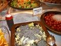 朝食バイキング(塩昆布とキャベツのサラダ)
