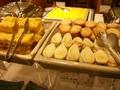 朝食バイキング(笹かまと卵焼き)