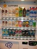 5階の自販機コーナー(サッポロ)