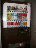 客室フロアの自販機