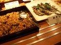 朝食バイキング(めざしと豆)
