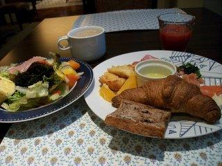 朝食バイキング(チョイス例)