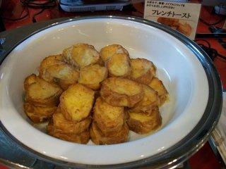 朝食バイキング(フレンチトースト)