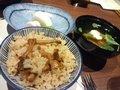 夕食(ごはんと汁物)