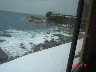 雪の日本海