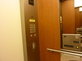 フロント・ロビー階、レストラン階へのエレベーター