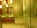 25階レストラン階の女子トイレの化粧スペース