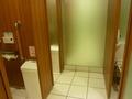 25階レストラン階の女子トイレ