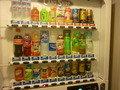 客室階の自動販売機コーナー(お水、お茶、ジュース)