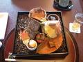 日本料理「木の花」の見た目がきれいなお食事