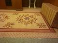 宴会場フロアの絨毯は超高級品
