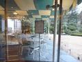 テラスレストランは春からはオープンカフェにもなります