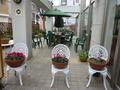 レストランの外のお席~海外のレストランみたい・・・