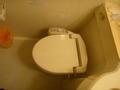 部屋のトイレ(便器)
