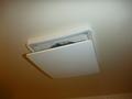 浴槽天井の除湿機