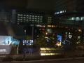 何となく部屋の窓の外を眺めるとこんな名古屋駅前の夜の風景が