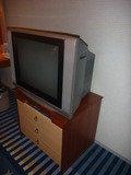 テレビはブラウン管です