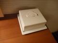 部屋の中のティッシュボックス