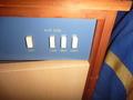 エアコンのスイッチは3段階