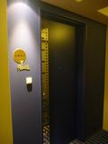 USJフロアの客室ドアはこんなメルヘンチックな感じ