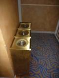 宴会場用の灰皿