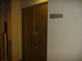 大宴会場のドア