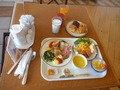 朝食バイキングでとった例