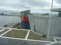 部屋から眺める海遊館