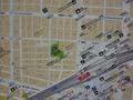 新橋駅にある地図