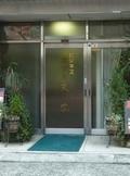 ホテル入口の自動ドア