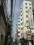 JR蒲田駅から方面から見えるホテル全景