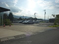 第一駐車場(ホテルの真ん前)