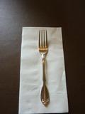 イタリアンレストランのフォーク