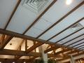 イタリアンレストランの天井