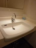 洗面もバリアフリー仕様です(1階のバリアフリートイレ