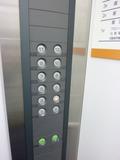 カードキーは不要のタイプ(エレベーター)