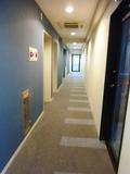 客室階の廊下