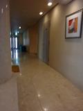 エレベーターホールと お部屋に続く廊下