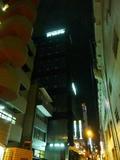 秋葉原駅方面から到着時に見えるホテル