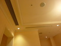 天井の空調と防火設備
