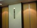 宿泊階のエレベーターホール