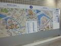 横浜駅の案内板