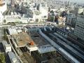 新宿駅の真上
