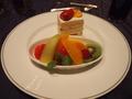 結婚式で頂いたケーキ