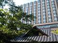 大隈庭園からのホテル