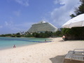 ビーチとホテル